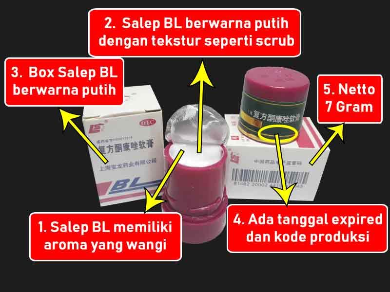 Cream Jerawat BL