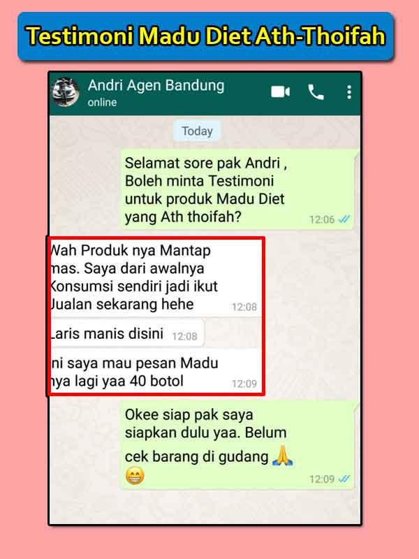 Efek Samping Madu Diet Ath Thoifah