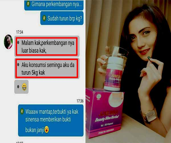 Testimoni Sinensa Beauty Slim
