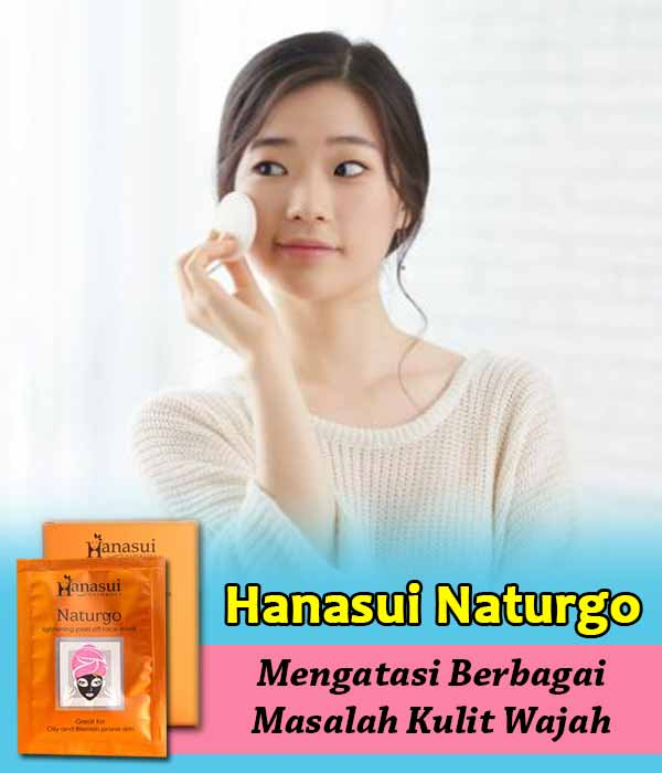 Testimoni Masker Hanasui Naturgo