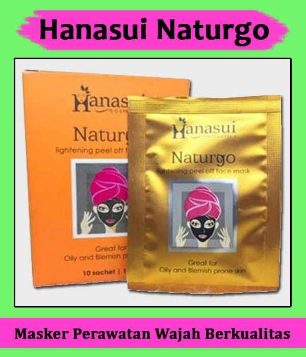 Masker Wajah Hanasui Naturgo