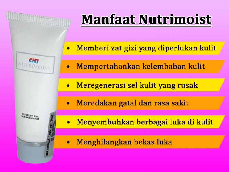 Manfaat Nutrimoist Untuk Jerawat