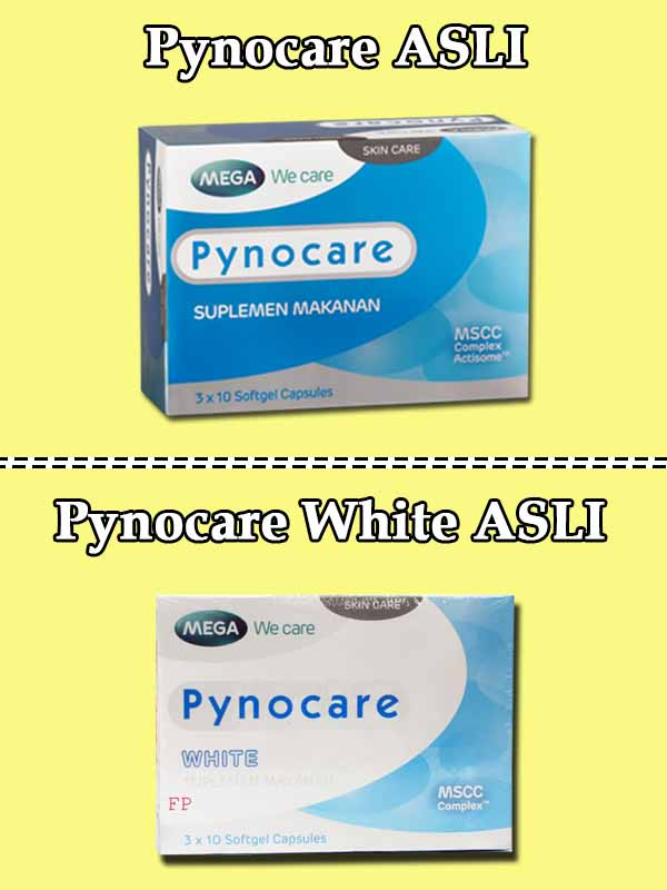 Review Pynocare White Kapsul