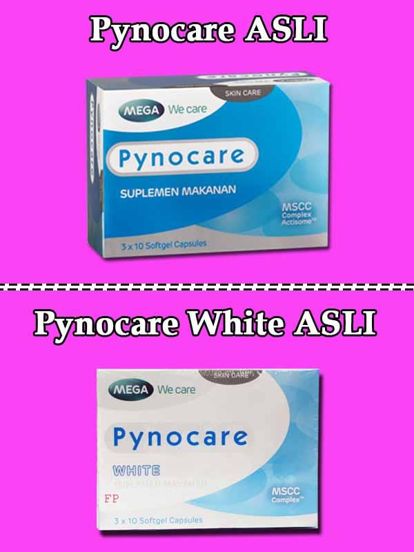 Ciri Pynocare White Palsu