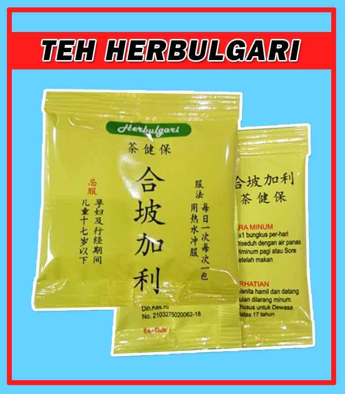 Komposisi Herbal Teh Herbulgari