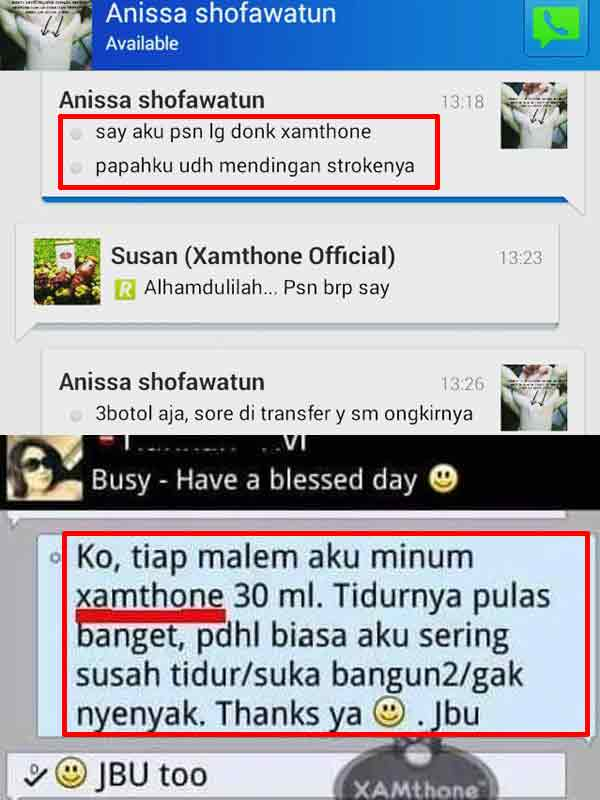 Efek Samping Xamthone Plus