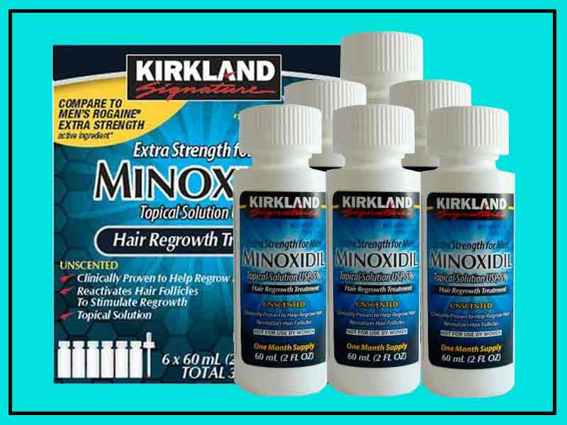 Review Kirkland Minoxidil Asli