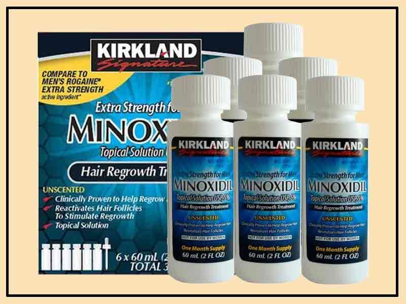 Penggunaan Kirkland Minoxidil Yang Benar