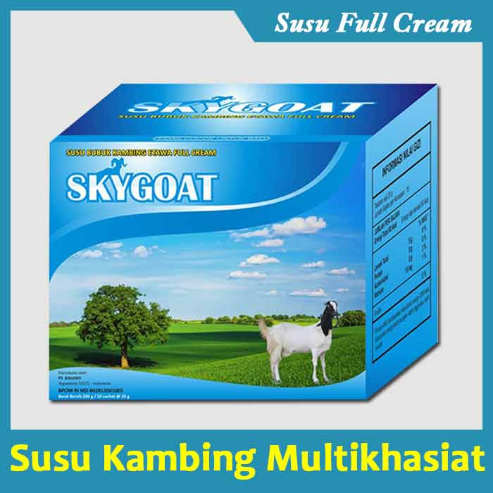 Review Susu Kambing Etawa Skygoat