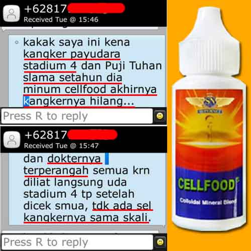 Cellfood Made In Usa Asli