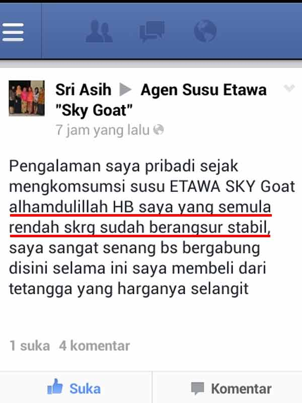 Efek Samping Susu Skygoat
