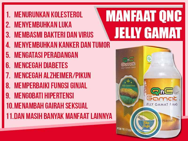 Review Kegunaan QnC Jelly Gamat Buat Wajah