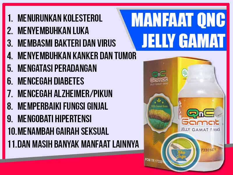 Supplier QnC Jelly Gamat Asli di Kota Painan