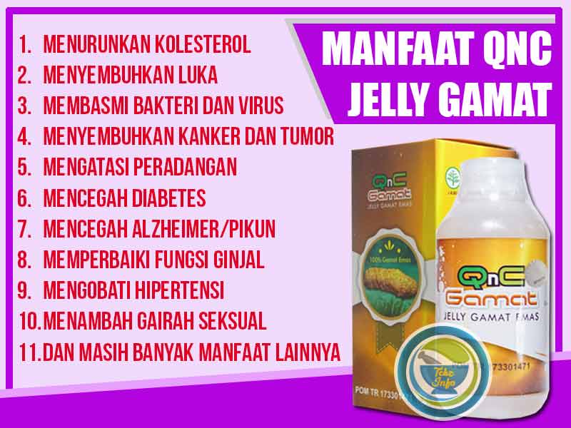 Supplier QnC Jelly Gamat Asli di Kota Siak Sri Indrapura