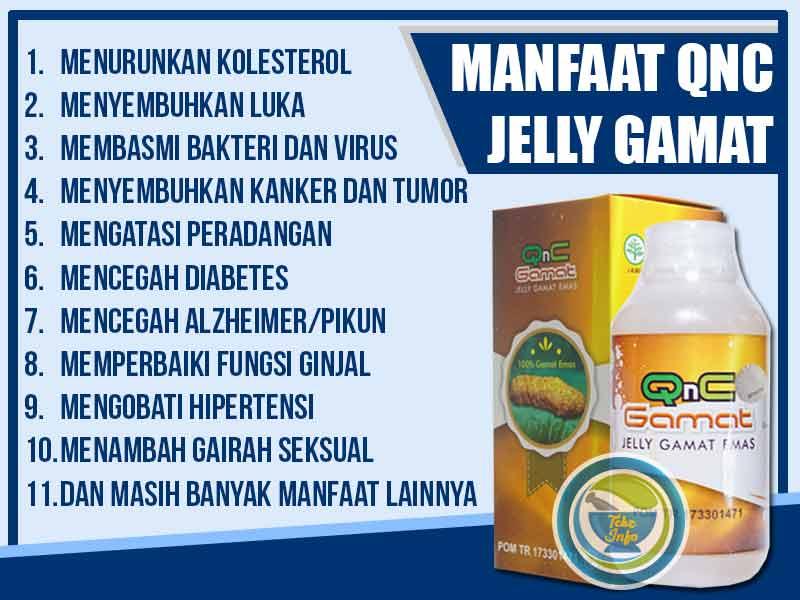 Khasiat QnC Jelly Gamat Vitiligo Dan Vertigo