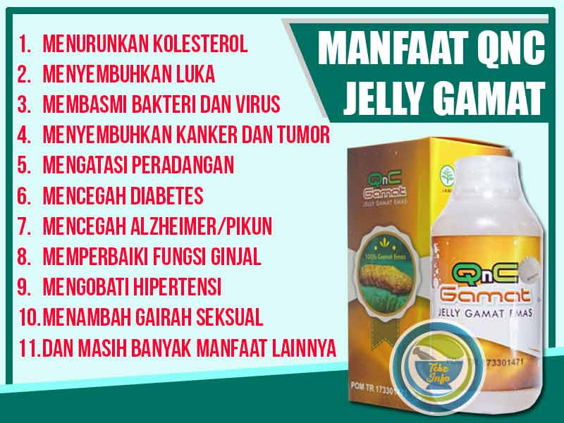 Distributor QnC Jelly Gamat Asli di Kota Palabuhanratu