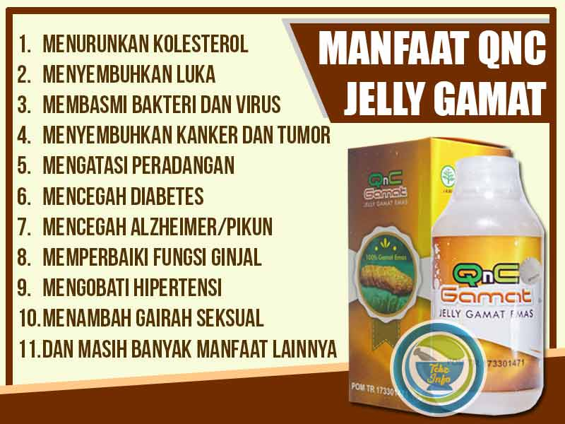 Review QnC Jelly Gamat Efek Samping Dan Testimoni