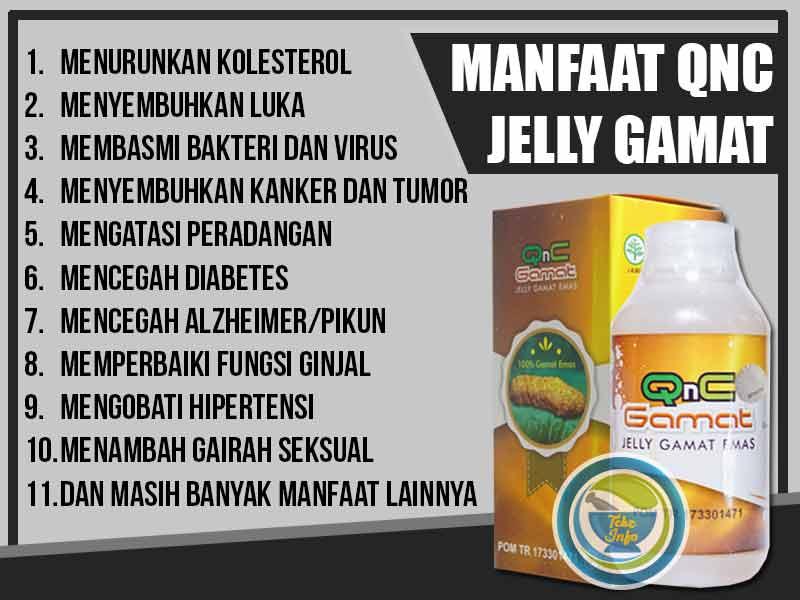 Jual QnC Jelly Gamat Asli di Kota Bolaang Mongondow Utara
