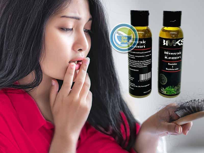 Distributor Minyak Kemiri BMKS Penyubur Rambut di Kota Jombang