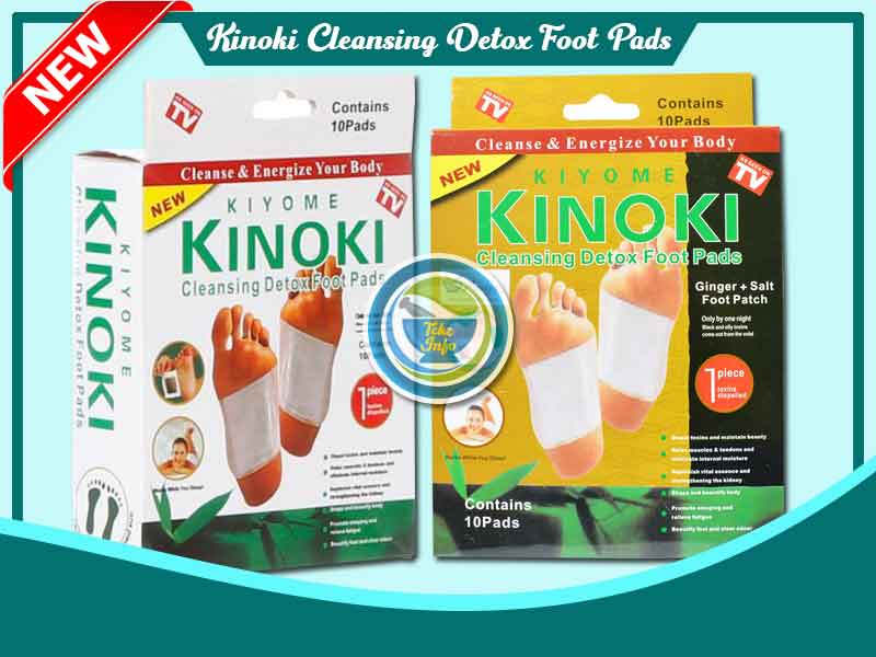 Jual Koyo Herbal Kinoki Detox Foot Pads White di Tual