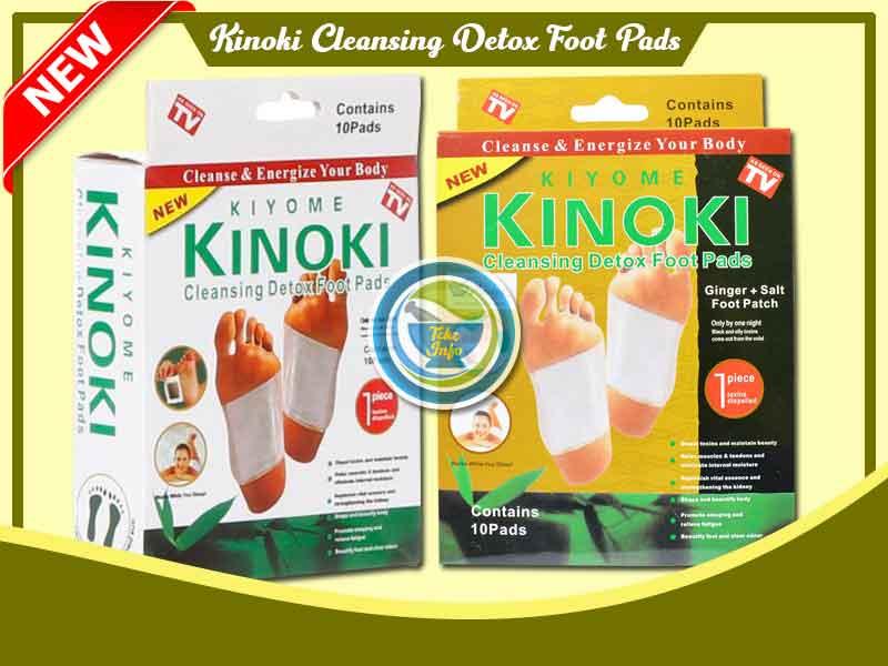 Jual Koyo Ajaib Kinoki Gold Detox Foot Pads di Buton Utara